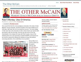 Thumbshot of Theothermccain.com