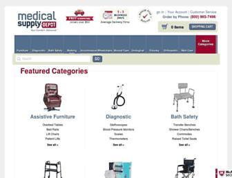 Thumbshot of Medicalsupplydepot.com