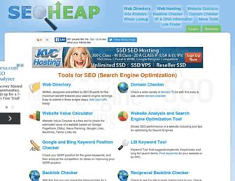 seoheap.com screenshot
