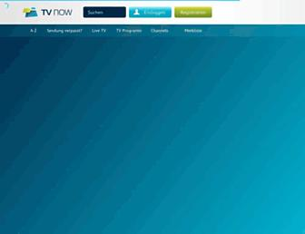 Main page screenshot of voxnow.de
