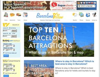 barcelonayellow.com screenshot