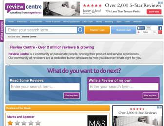 reviewcentre.com screenshot