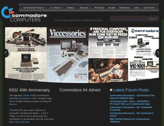 commodore.ca screenshot