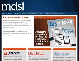 mdsi.org screenshot