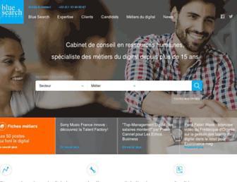 blue-search.com screenshot