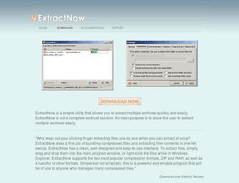 extractnow.com screenshot