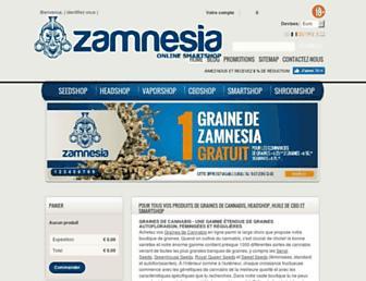 Thumbshot of Zamnesia.fr
