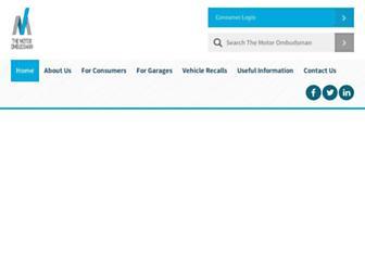 themotorombudsman.org screenshot