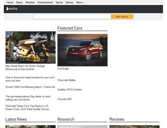 autos.msn.com screenshot