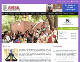 alphamindpower.net screenshot