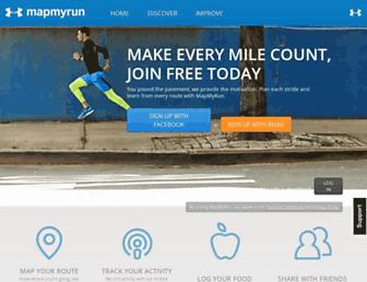 Thumbshot of Mapmyrun.com