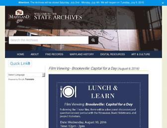 msa.maryland.gov screenshot