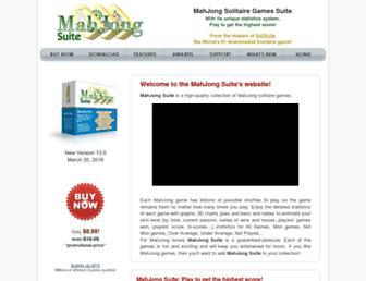 mahjongsuite.com screenshot