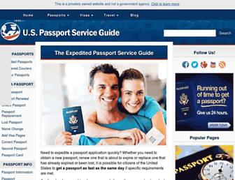 Thumbshot of Us-passport-service-guide.com