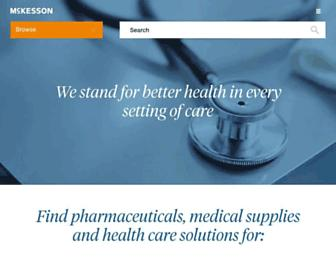 Thumbshot of Mckesson.com