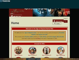 ageofempires.fandom.com screenshot