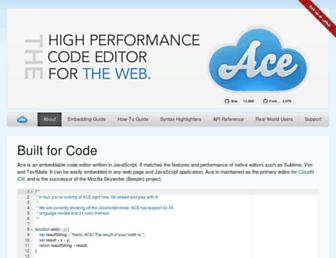 ace.c9.io screenshot