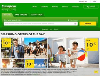 Thumbshot of Europcar.com