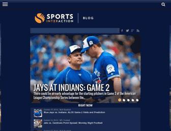 news.sportsinteraction.com screenshot