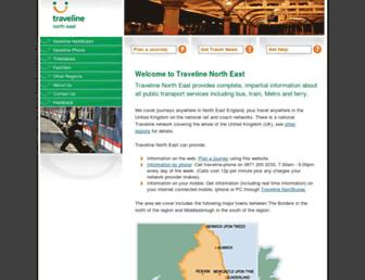 travelinenortheast.info screenshot
