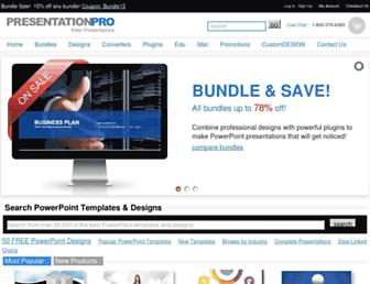 presentationpro.com screenshot