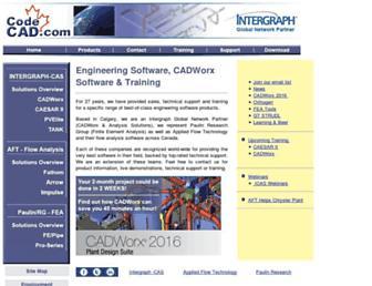 codecad.com screenshot