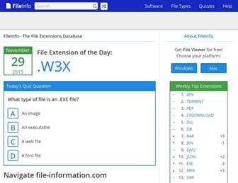 file-information.com screenshot