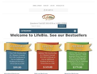 secure.lifebio.com screenshot