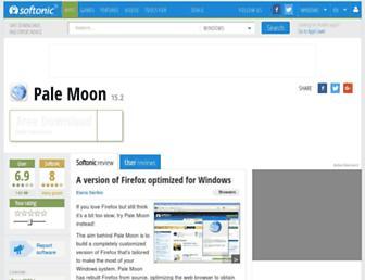 pale-moon.en.softonic.com screenshot