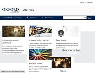 academic.oup.com screenshot