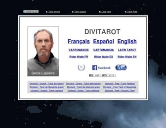Thumbshot of Divitarot.com
