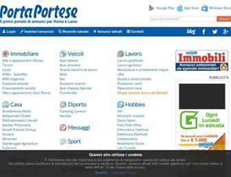 portaportese.it screenshot