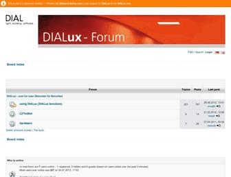 board.dialux.com screenshot