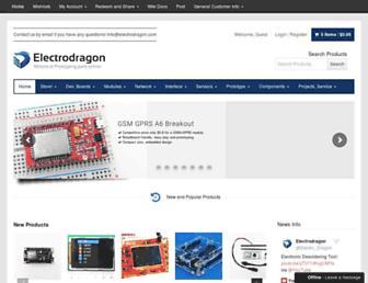 electrodragon.com screenshot