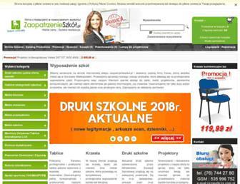zaopatrzenieszkol.pl screenshot