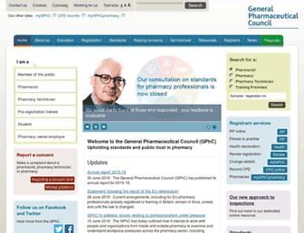 Thumbshot of Pharmacyregulation.org