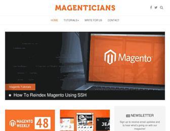 magenticians.com screenshot