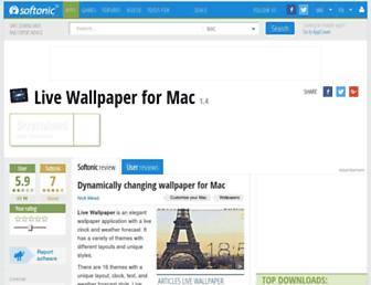 live-wallpaper-mac.en.softonic.com screenshot