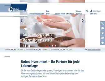 privatkunden.union-investment.de screenshot