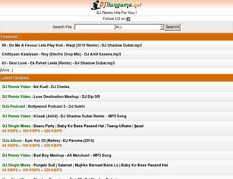 djhungama.net screenshot