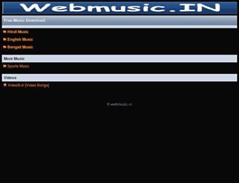 27.webmusic.in screenshot