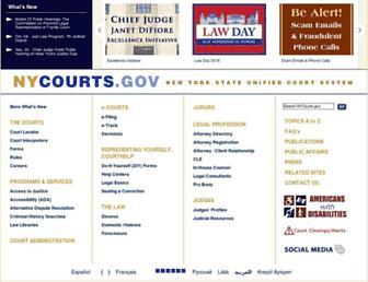ww2.nycourts.gov screenshot