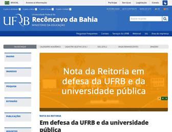 Thumbshot of Ufrb.edu.br