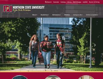 www3.northern.edu screenshot