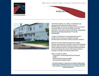 civilworksengineers.com screenshot