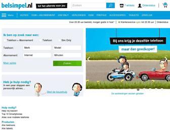 Thumbshot of Belsimpel.nl