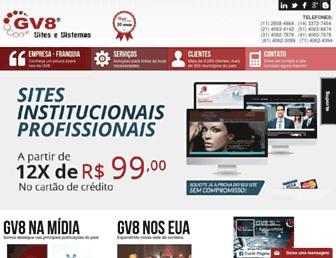 gv8.com.br screenshot