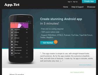 Thumbshot of Appyet.com