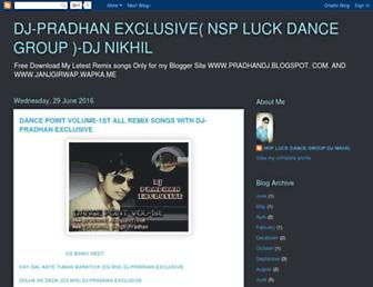 pradhandj.blogspot.com screenshot