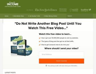Thumbshot of Incomediary.com